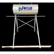 Ηλιακός Θερμοσίφωνας 125lt FOCUS GLASS Επιλεκτικός τιτανίου