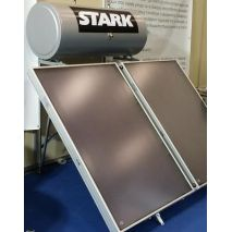 Ηλιακός Θερμοσίφωνας 250L STARK GLASS με 2 επιλεκτικούς συλλέκτες τιτανίου 4τμ (2Χ2) (6 ΑΤΟΚΕΣ ΔΟΣΕΙΣ)