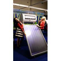 Ηλιακός Θερμοσίφωνας 100L STARK GLASS με επιλεκτικό συλλέκτη τιτανίου 1,50τμ (6 ΑΤΟΚΕΣ ΔΟΣΕΙΣ)
