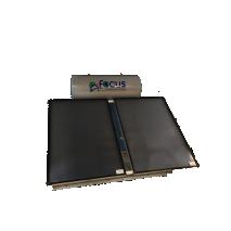 Ηλιακός Θερμοσίφωνας 250lt FOCUS GLASS Επιλεκτικός τιτανίου