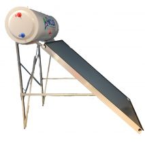 Ηλιακός Θερμοσίφωνας 125lt FOCUS INOX (Ανοξείδωτο ατσάλι 316L HiMo)