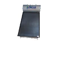Ηλιακός Θερμοσίφωνας 170lt FOCUS GLASS Επιλεκτικός τιτανίου