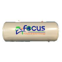 Θερμοδοχείο (BOILER) 125lt  Ηλιακού θερμοσίφωνα FOCUS Glass Διπλής ενεργείας