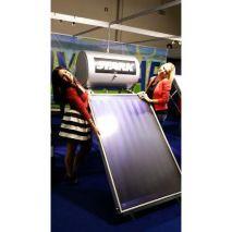 Ηλιακός Θερμοσίφωνας 125L STARK GLASS  με επιλεκτικό συλλέκτη τιτανίου 1,89τμ (6 ΑΤΟΚΕΣ ΔΟΣΕΙΣ)