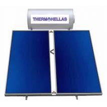 Ηλιακός θερμοσίφωνας 300 Lt THERMOHELLAS Glass επιλεκτικός 4,00 τ.μ