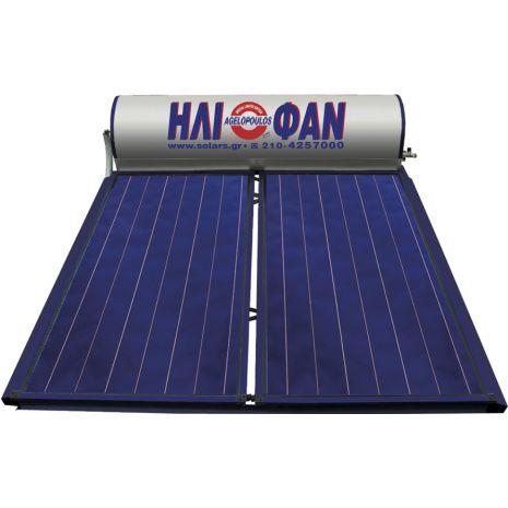 Ηλιακός Θερμοσίφωνας ΗΛΙΟΦΑΝ Special Limited Edition Δ.Ε 250lt με 4 τ.μ επιλεκτικούς συλλέκτες τιτανίου