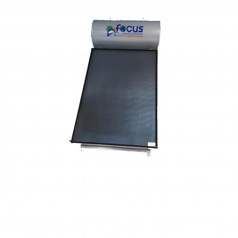 Ηλιακός Θερμοσίφωνας 150lt FOCUS INOX (Ανοξείδωτο ατσάλι 316L HiMo)