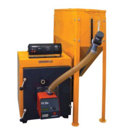 Ολοκληρωμένο συγκρότημα pellet thermostahl ENPEL UNIT-120 (139kW - 120.000 Kcal/h)