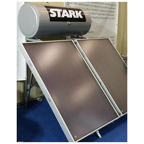 Ηλιακός Θερμοσίφωνας 300L STARK GLASS  LIMITED με 2 επιλεκτικούς συλλέκτες τιτανίου FULL PLATE 4.60τμ (2Χ2.30) (6 ΑΤΟΚΕΣ ΔΟΣΕΙΣ)