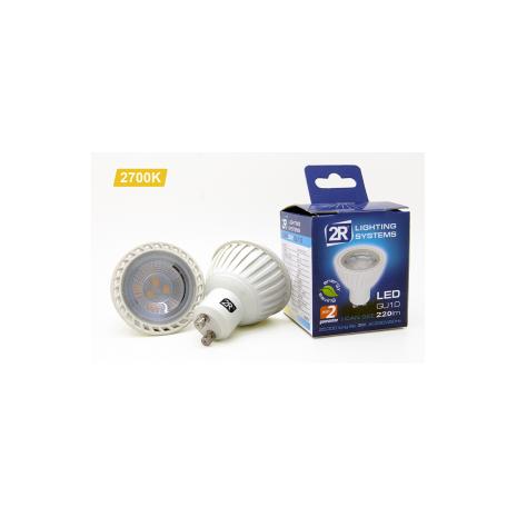 LED SPOT GU10 / 5w / 2700K / SMD / 400lm / 220V