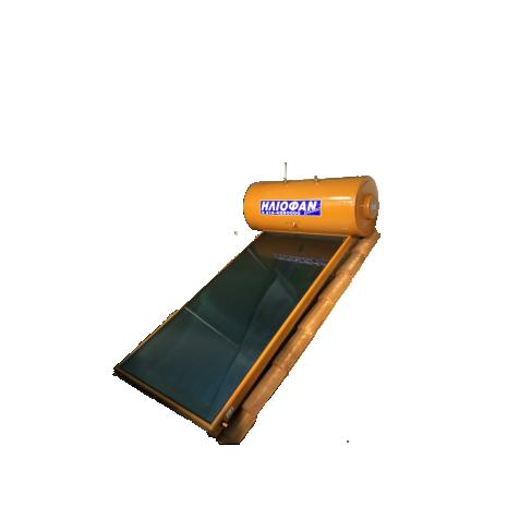 Ηλιακός Θερμοσίφωνας 330lt ΗΛΙΟΦΑΝ EcoLogic Επιλεκτικός Τιτανίου 6.0τμ Διπλής Ενέργειας ΣΕ 12 ΑΤΟΚΕΣ ΔΟΣΕΙΣ Glass