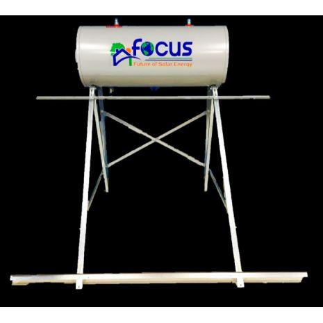 Ηλιακός Θερμοσίφωνας 200lt FOCUS GLASS Επιλεκτικός τιτανίου