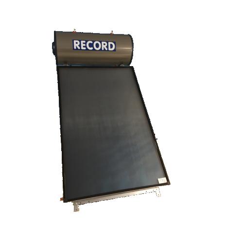 Ηλιακός Θερμοσίφωνας 80lt RECORD ECO Χάλκινος  με επιλεκτικό συλλέκτη τιτανίου 1,50 τμ