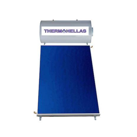 Ηλιακός Θερμοσίφωνας 200 Lt THERMOHELLAS Glass επιλεκτικός 2,40 τ.μ